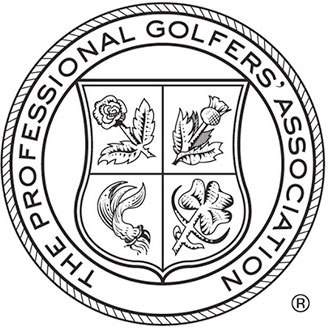 The crest is a registered trademark of the Professional Golfers Association limited